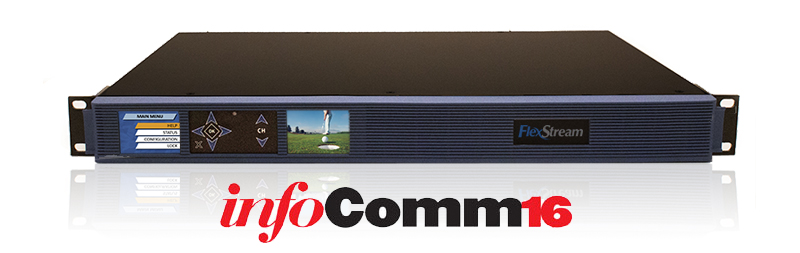 West Pond Enterprises Announces the Innovative FlexStream MX-400 at Infocomm16