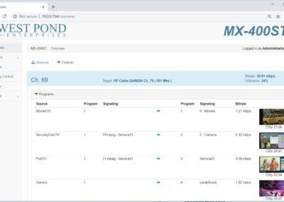 MX-400 Screenshot