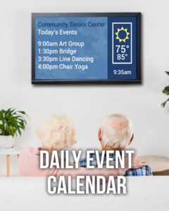 Events Shown On TV