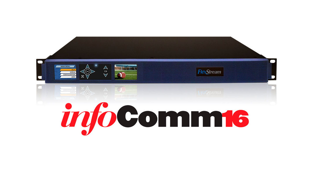 West Pond Enterprises Announces the Innovative FlexStream MX-400 at Infocomm16